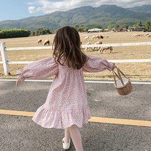 ❤️ SALE! 2/ 20$  ❤️Floral print dress in Pink